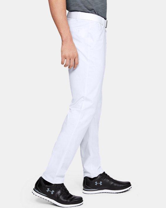 Men's UA Vanish Pants Tapered, White, pdpMainDesktop image number 3