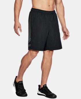 Men's UA Woven Graphic Shorts  1 Color $40