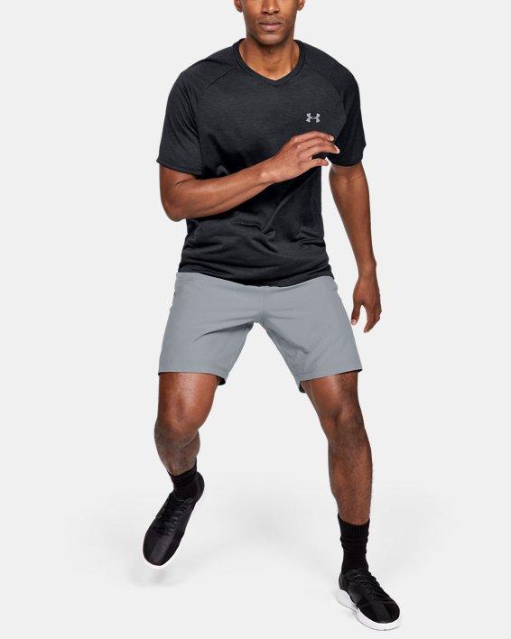 Herren Shorts UA mit Grafik, Gray, pdpMainDesktop image number 1