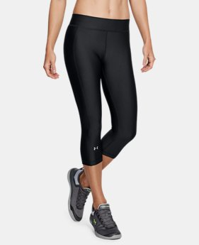 Women's HeatGear® Armour Capris  3  Colors Available $35