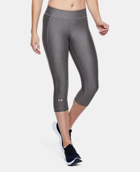 Women's HeatGear® Armour Capris  2  Colors Available $45