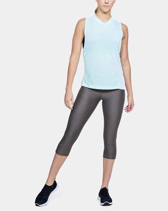Corsaire HeatGear® Armour pour femme, Gray, pdpMainDesktop image number 1