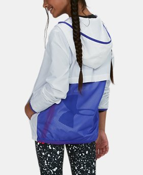 Girls' UA Sackpack Jacket  2  Colors Available $56.25