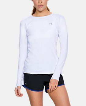Women's UA Sunblock Long Sleeve  1  Color Available $55