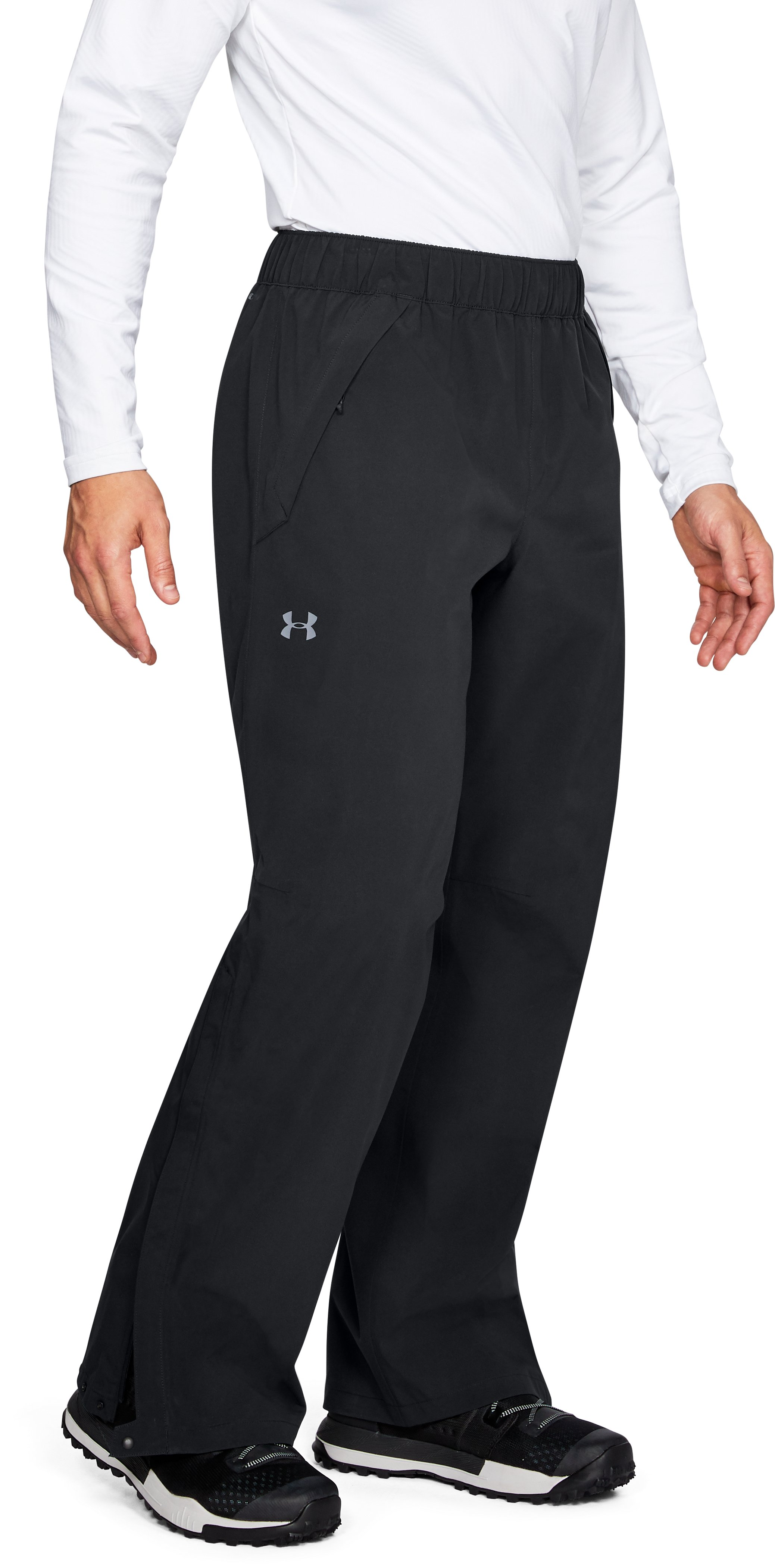 Men's UA Trektic Pants, Black ,