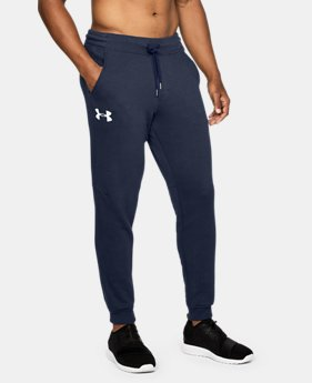 Men's UA Rival Fleece Fitted Joggers LIMITED TIME: FREE U.S. SHIPPING 1 Color $49.99