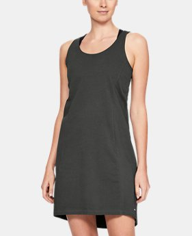 Women's UA Microthread Essential Dress  2  Colors Available $36 to $45.99