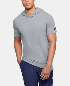 Men's UA Baseline Short Sleeve Hooded Tee  2  Colors Available $38