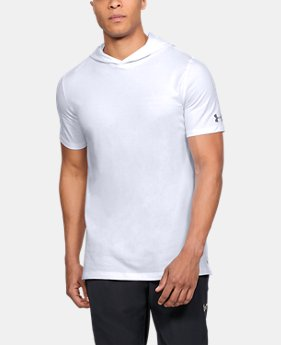 New Arrival Men's UA Baseline Short Sleeve Hooded Tee  1 Color $38