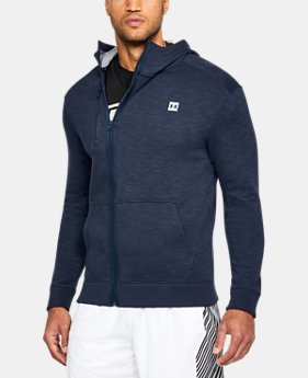New Arrival Men's UA Baseline Full Zip Hoodie  1 Color $70