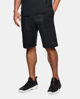 Men's UA Baseline Fleece Shorts  1 Color $50