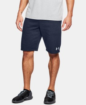 Men's UA Baseline Fleece Shorts  2  Colors Available $45