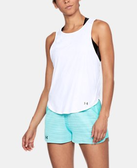 New Arrival Women's UA Vivid Keyhole Back Tank  1 Color $40