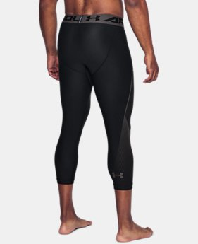New Arrival Men's HeatGear® Armour Graphic ¾ Leggings  3 Colors $34.99