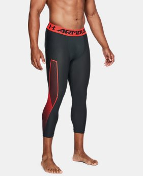 Men's HeatGear® Armour Graphic ¾ Leggings LIMITED TIME: FREE SHIPPING 4 Colors $45