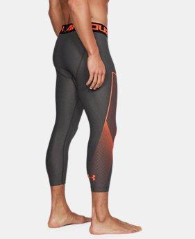 the best attitude d142e 7a2ab Men s HeatGear® Armour Graphic ¾ Leggings 2 Colors Available  34.99