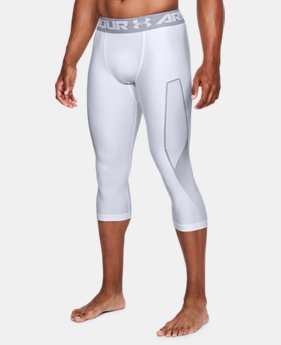 New Arrival Men's HeatGear® Armour Graphic ¾ Leggings  1 Color $34.99