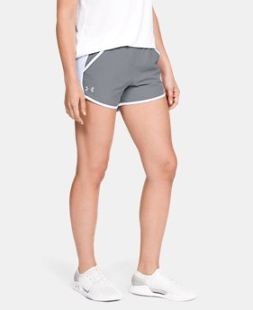 Women's UA Fly-By Team Shorts FREE U.S. SHIPPING 1  Color Available $25