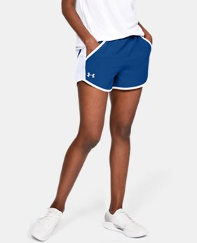 Women's UA Fly-By Team Shorts  3  Colors Available $25