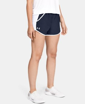 Women's UA Fly-By Team Shorts  8  Colors Available $25