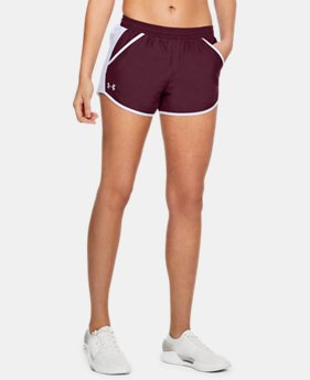 Women's UA Fly-By Team Shorts FREE U.S. SHIPPING 2  Colors Available $25