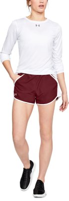 Damen-Laufhose 1271543/_001 Under Armour Fly-by-Shorts