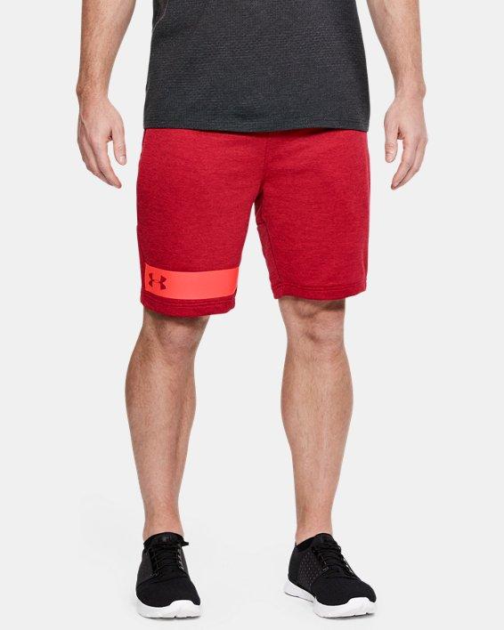 Men's UA MK-1 Terry Shorts, Red, pdpMainDesktop image number 0