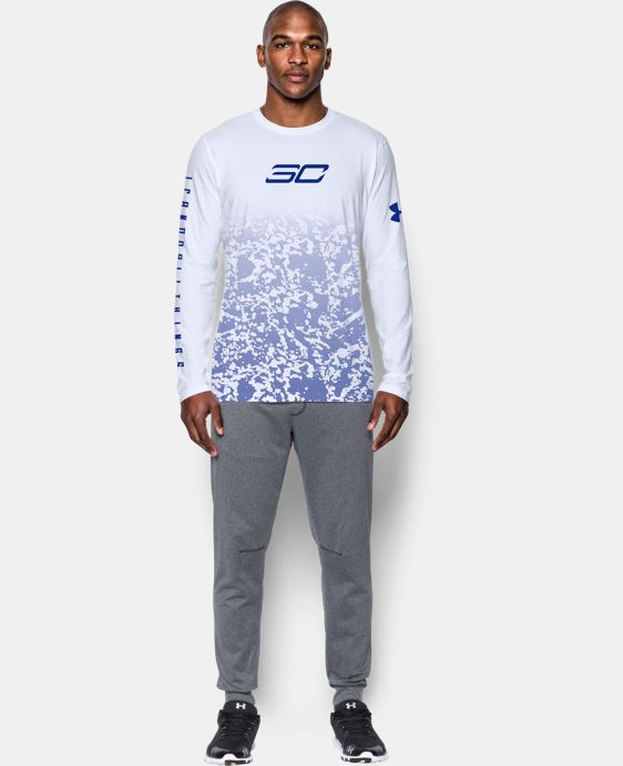 New Arrival Men's SC30 Fade Away Long Sleeve T-Shirt   $39.99