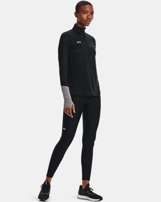 Women's UA Locker ½ Zip, Black, pdpMainDesktop image number 1