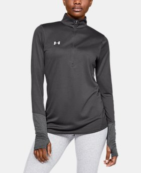 New Arrival Women's UA Locker ½ Zip  1  Color Available $40