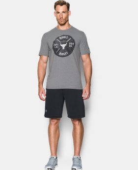 Men's UA x Project Rock Humble Hungry T-Shirt    $34.99