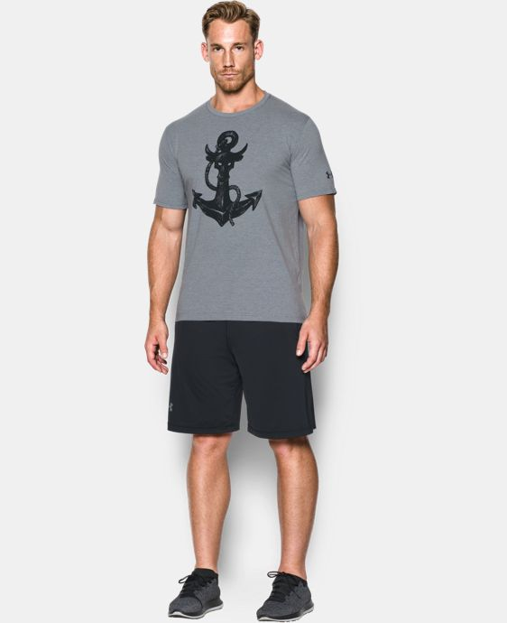 New Arrival Men's UA x Project Rock Anchor T-Shirt  1 Color $34.99