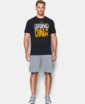Men's UA x Project Rock Grind DNA T-Shirt  1 Color $34.99