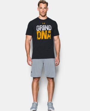 New Arrival Men's UA x Project Rock Grind DNA T-Shirt *Ships 12/20/2016*   $39.99