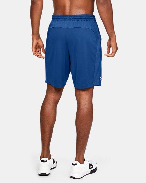 Men's UA Raid Pocketed Shorts, Blue, pdpMainDesktop image number 2