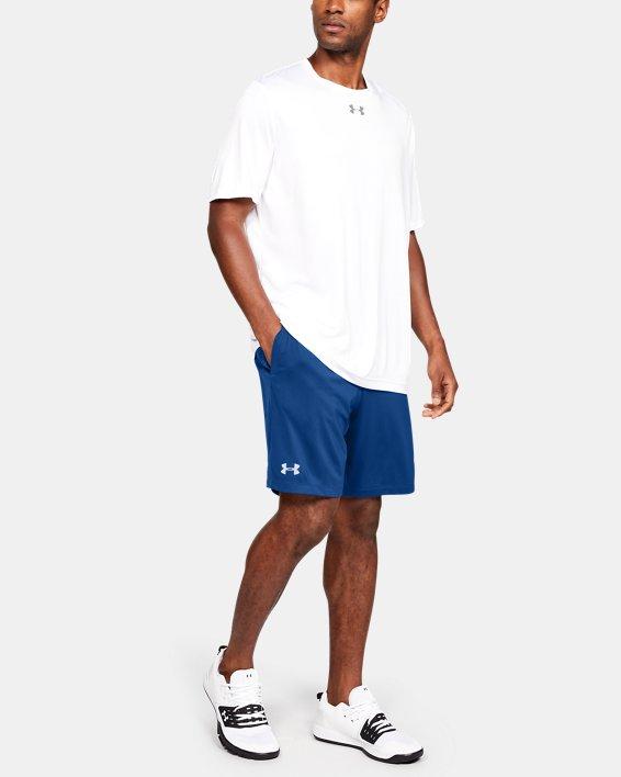 Men's UA Raid Pocketed Shorts, Blue, pdpMainDesktop image number 1