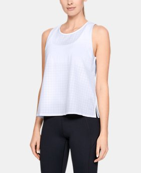 Women's Misty Copeland Signature Woven Tank  1  Color Available $60