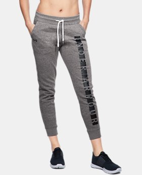 Women's UA Favorite Fleece Graphic Pants LIMITED TIME: FREE U.S. SHIPPING 3 Colors $55