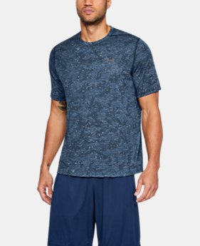 Men's UA Siro Printed Short Sleeve  1  Color Available $22.49