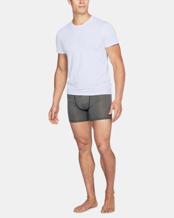 Men's Charged Cotton® Crew Undershirt, White, pdpMainDesktop image number 1
