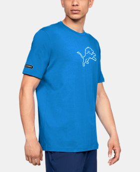New Arrival Men's NFL Combine Authentic Print Fill T-Shirt  1  Color Available $35