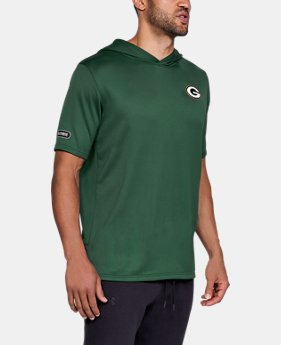 Men's NFL Combine Authentic UA Tech™ Terry Short Sleeve Hoodie   $65