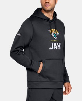 Best Seller Men's NFL Combine Authentic Armour Fleece® Lockup Hoodie  1  Color Available $75
