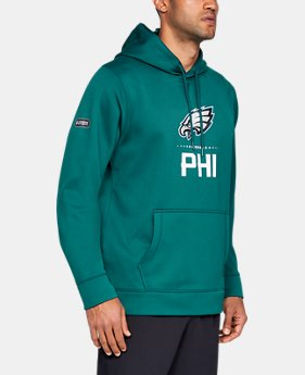 Best Seller Men's NFL Combine Authentic Armour Fleece® Lockup Hoodie  27  Colors Available $75