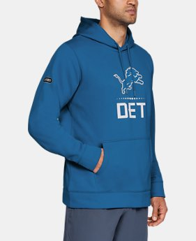 New Arrival Men's NFL Combine Authentic Armour Fleece® Lockup Hoodie  1  Color Available $75
