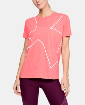 Women's UA Tri-Blend Graphic Short Sleeve LIMITED TIME: FREE U.S. SHIPPING 3  Colors Available $35
