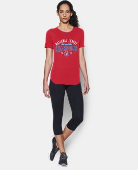 New Arrival Women's Chicago Cubs NL Champ T-Shirt *Ships 10/31/2016*  1 Color $34.99