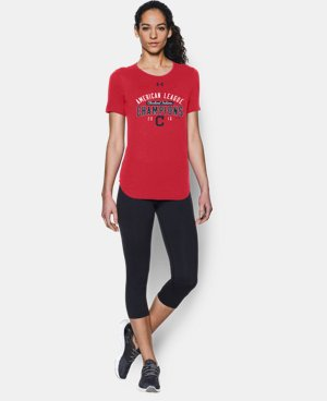 Women's Cleveland Indians AL Champ T-Shirt  LIMITED TIME: FREE U.S. SHIPPING  $34.99