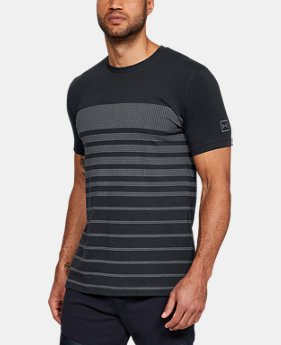 New Arrival Men's UA Sportstyle Stripe T-Shirt LIMITED TIME: FREE U.S. SHIPPING 1  Color Available $35