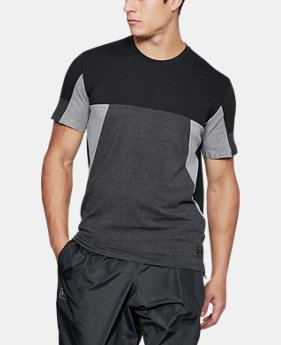 New Arrival Men's UA Sportstyle Colorblock T-Shirt  1 Color $35